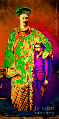 Chang The Chinese Giant 20151222 Long Art Print by Wingsdomain Art and Photography