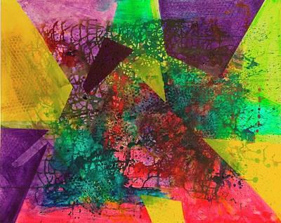 Wall Art - Painting - Change II by Anni Koch-Knudsen