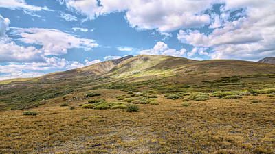 Photograph - Change In The Air At The Guanella Pass Summit by John M Bailey