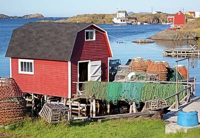 Photograph - Change Islands, Newfoundland by Tatiana Travelways