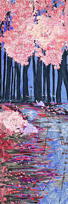 Mixed Media - Change Of Seasons 2 Of 4 by Ken Figurski