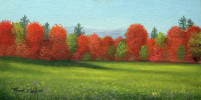Painting - Change Of Seasons by Frank Wilson