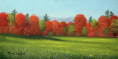 Painting - Change Of Seasons by Frank Wilson