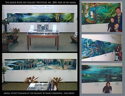 Painting - Changes Of The Seasons Exhibition by Nancy Griswold