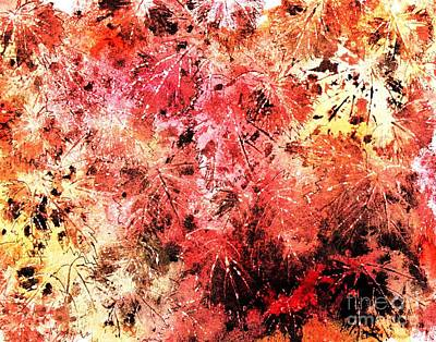 Painting - Changing Fall Colors 9 by Hazel Holland