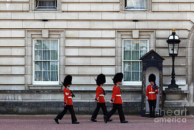 Changing Of The Guard Photograph - Changing Of The Guard 1 by James Brunker
