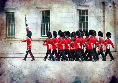Photograph - Changing Of The Guard by Bill Howard