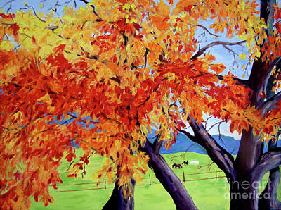 Painting - Changing Of The Leaves by Lisa Rose Musselwhite