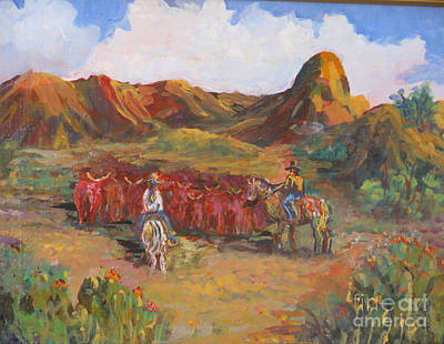 Painting - Changing Pastures by Linda Rupard