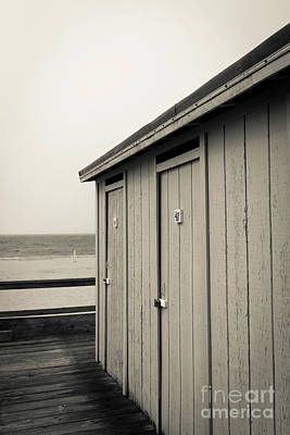 Photograph - Changing Rooms At The Beach by Edward Fielding