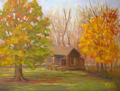 Painting - Changing Season by Robie Benve