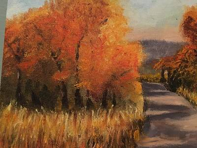 Painting - Changing Season by Sharon Schultz