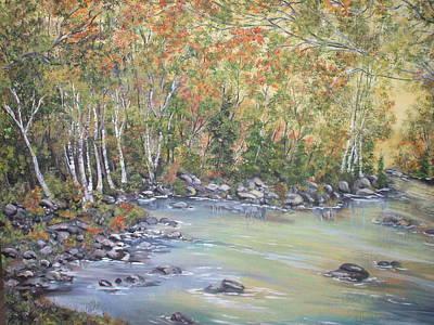 Changing Seasons Art Print by Bev  Neely