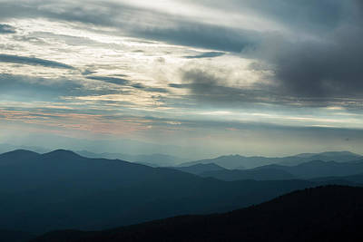 Photograph - Changing Weather Over The Smoky Mountains by Joe Miller