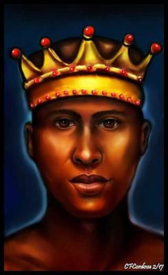 Chango Digital Art - Chango -king by Carmen Cordova