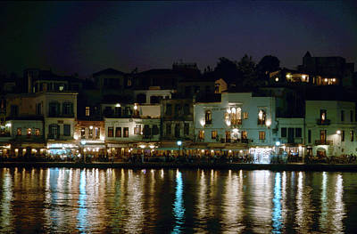 Photograph - Chania By Night  by Jouko Lehto