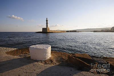 Greek Photograph - Chania by Nichola Denny