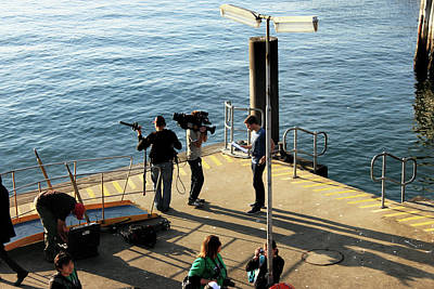 Photograph - Channel 7 At Cockatoo Island by Miroslava Jurcik