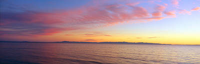 Ventura Photograph - Channel Islands And Pacific At Sunset by Panoramic Images