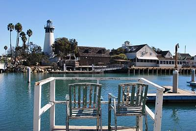 Photograph - Channel Islands Harbor Lighthouse - Best Seat In The House by Matt Harang