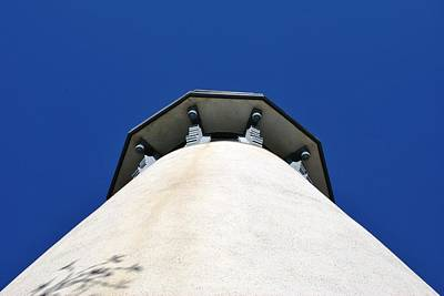 Photograph - Channel Islands Harbor Lighthouse - Looking Up  by Matt Harang