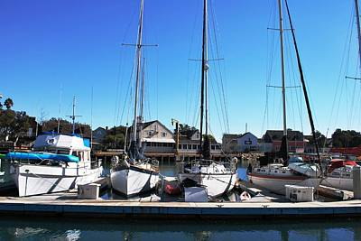 Photograph - Channel Islands Harbor - Sailboats by Matt Harang