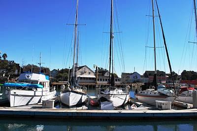 Photograph - Channel Islands Harbor - Sailboats by Matt Harang