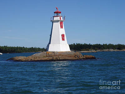 Photograph - Channel Lighthouse  by Cathy  Beharriell