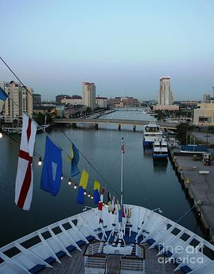 Photograph - Channelside Tampa Florida by John Black