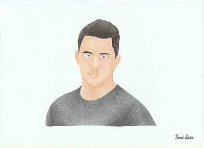 Channing Tatum Art Print
