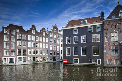 Channles Of Amsterdam Art Print by Andre Goncalves