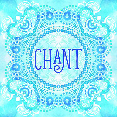 Digital Art - Chant by Tammy Wetzel