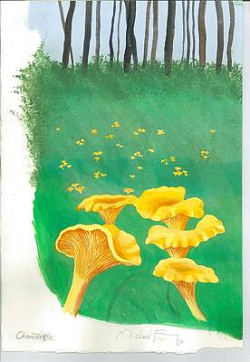 Painting - Chanterelle by Michael Earney