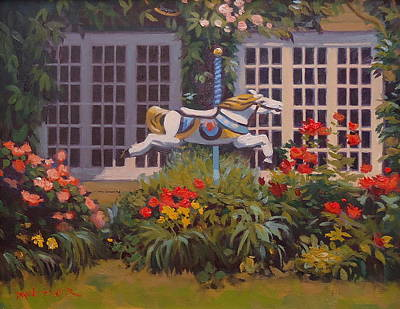 Painting - Chanticleer by Dianne Panarelli Miller