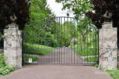 Photograph - Chanticleer Garden Gates by Jeannie Rhode