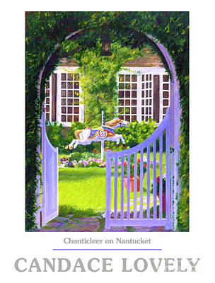 Painting - Chanticleer On Nantucket by Candace Lovely