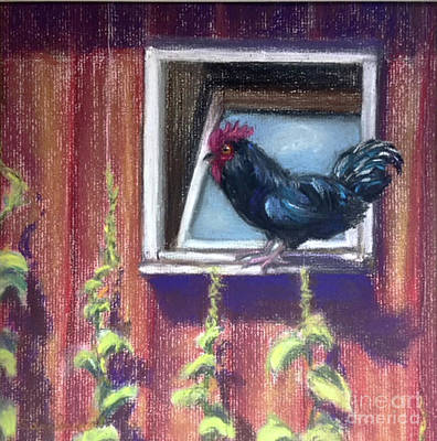 Painting - Chanticleer by Susan Sarabasha