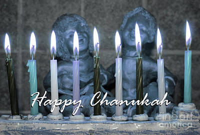 Photograph - Chanukah Is For Children by Nina Silver