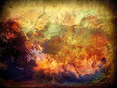 Photograph - Chaos - Abstract Art by Lilia D