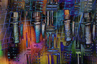 Chaos In Solitude Vii Art Print