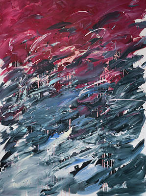 Painting - Chaos Serie, I by Daniel Hannih