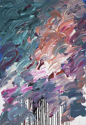 Painting - Chaos Serie, IIi by Daniel Hannih