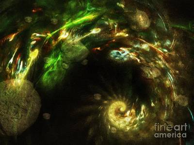 Digital Art - Chaos Theory by Abbie Shores