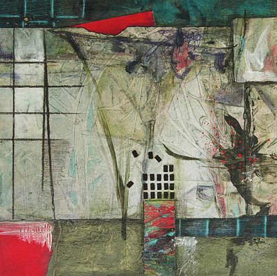 Squares Mixed Media - Chaotic Comforts by Laura Lein-Svencner