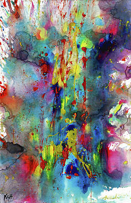 Chaotic Craziness Series 1993.033014 Art Print by Kris Haas