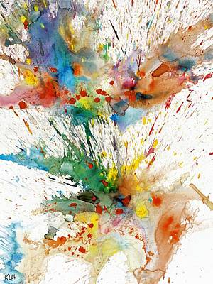 Painting - Chaotic Craziness Series 2005.040114 by Kris Haas
