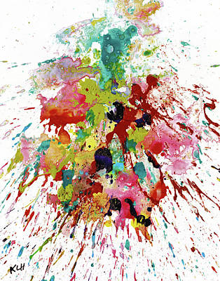 Painting - Chaotic Craziness Series 2065.040514 by Kris Haas