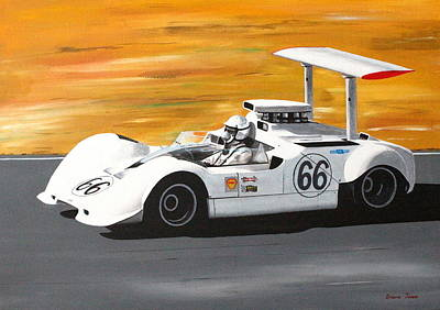 Painting - Chaparral 2g by Steve Jones