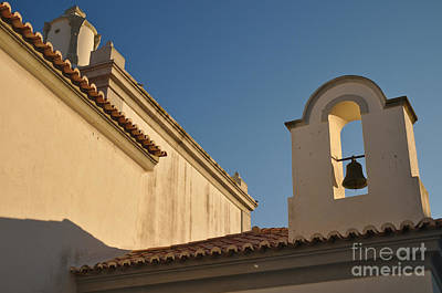 Church Photograph - Chapel And Bell In Albufeira by Angelo DeVal