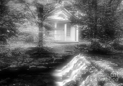 Photograph - Chapel And Falls by Matthew Winn